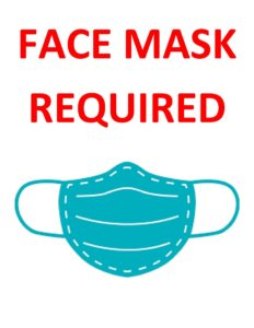 Face Mask Required | Rural Municipality of Morris